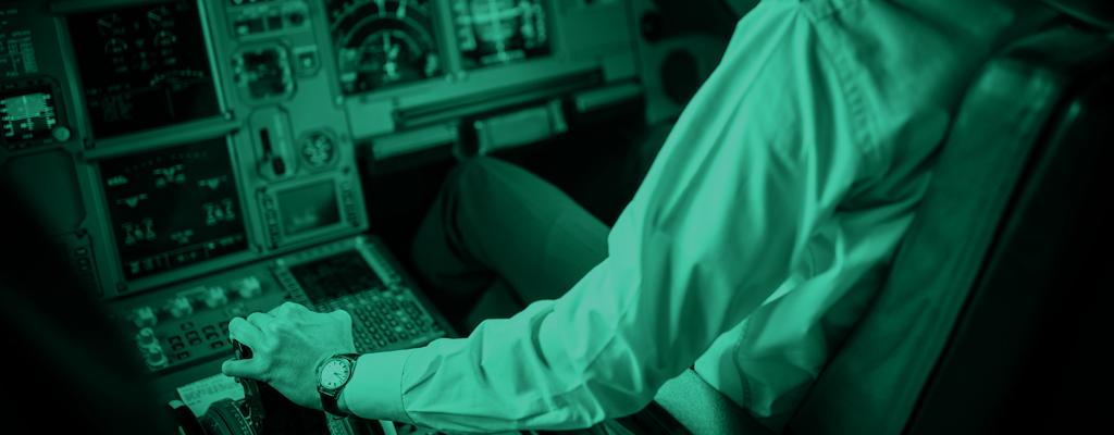 Pilot fails alcohol test